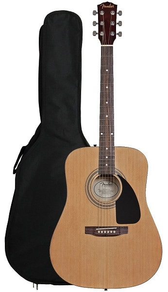 Fender FA-100 Dreadnought Acoustic Guitar Bundle