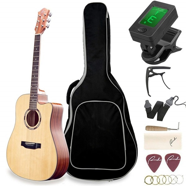 Ranch Beginner Acoustic Guitar Bundle