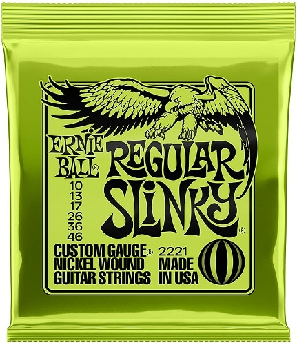Ernie Ball Regular Slinky Nickel Wound Set